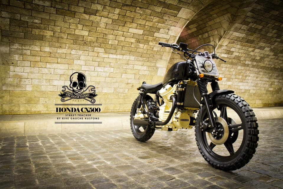 milchapitas kustom bikes honda cx500 by rive gauche kustoms. Black Bedroom Furniture Sets. Home Design Ideas