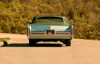 1966 Cadillac Eldorado Cabriolet Green Rear