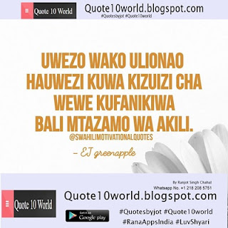 10 New Swahili Language Quotes Quote 10 World