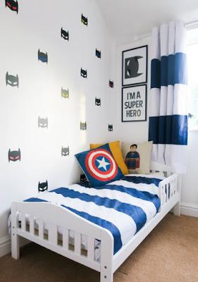 Warna Cat Kamar Tidur Anak Laki Laki : warna, kamar, tidur, Warna, Sesuai, Untuk, Bilik, Tidur, Lelaki, Desain, Rumah