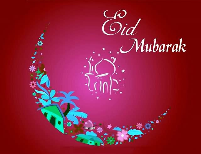 Eid Mubarak Wishes Quotes with Eid MUbarak Cards Images