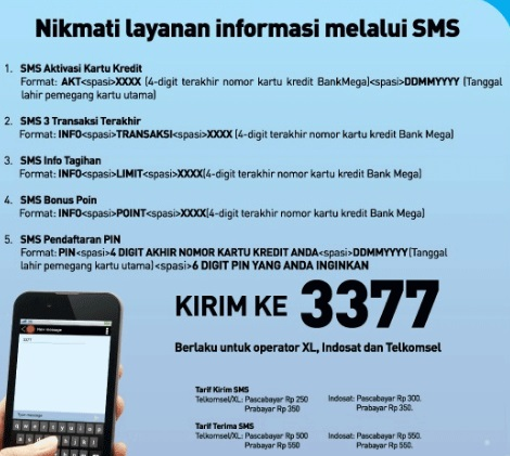 √ Cara cek sisa limit kartu kredit BCA melaui SMS dan Internet Banking BCA 5