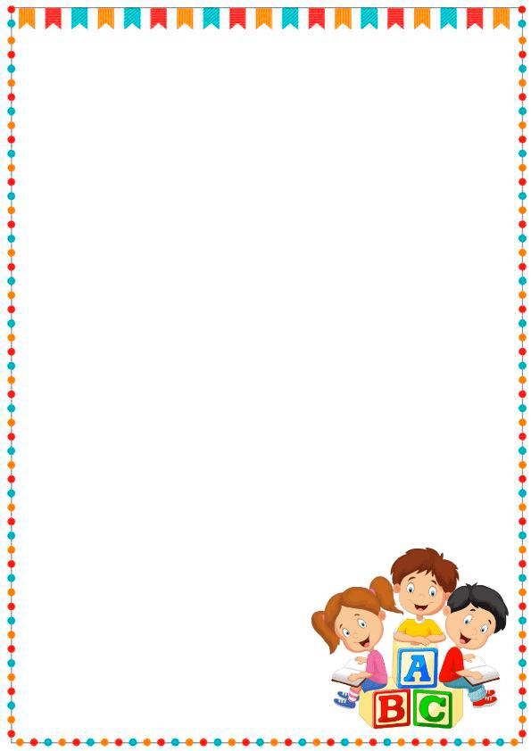 Caratulas de cuadernos para niños y  niñas de inicial de abc