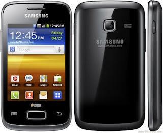 Spesifikasi Harga Samsung Galaxy Y Duos S6102