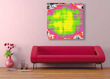painting, abstract, art, digital painting, abstract painting, square painting, neon painting, contemporary painting, Sam Freek,