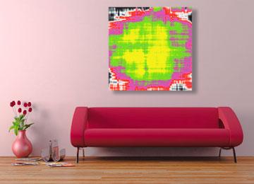painting, abstract, art, digital painting, abstract painting, square painting, neon painting, contemporary painting, Sam Freek,