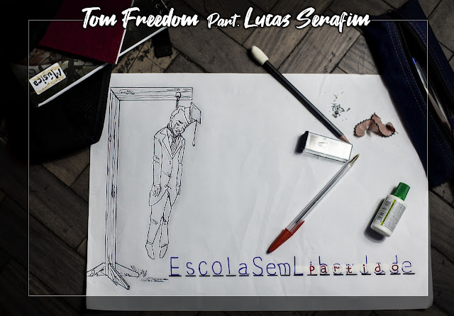 """Tom Freedom lança o som """"Escola Sem Partido"""" com part. de Lucas Serafim"""