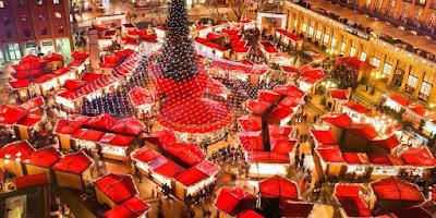 Mercado de navidad de Viena en Austria