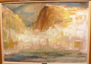 το έργο Ύδρα του Περικλή Βυζάντιου στην Εθνική Πινακοθήκη