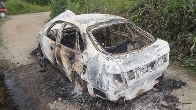 Θρίλερ με απανθρακωμένο πτώμα μέσα σε Ι.Χ στο Λουτράκι – Εντοπίστηκε σε δύσβατη δασική περιοχή