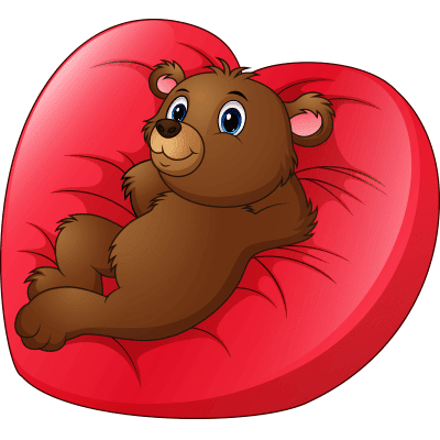 Relaxing Love Bear