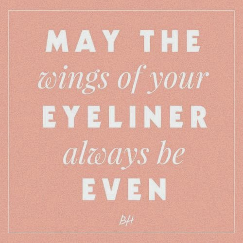 Makeup Story; The winged Eyeliner