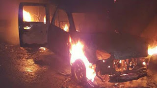 NIGERIA: Navy Sets Police Station On Fire, Three Police men Dead