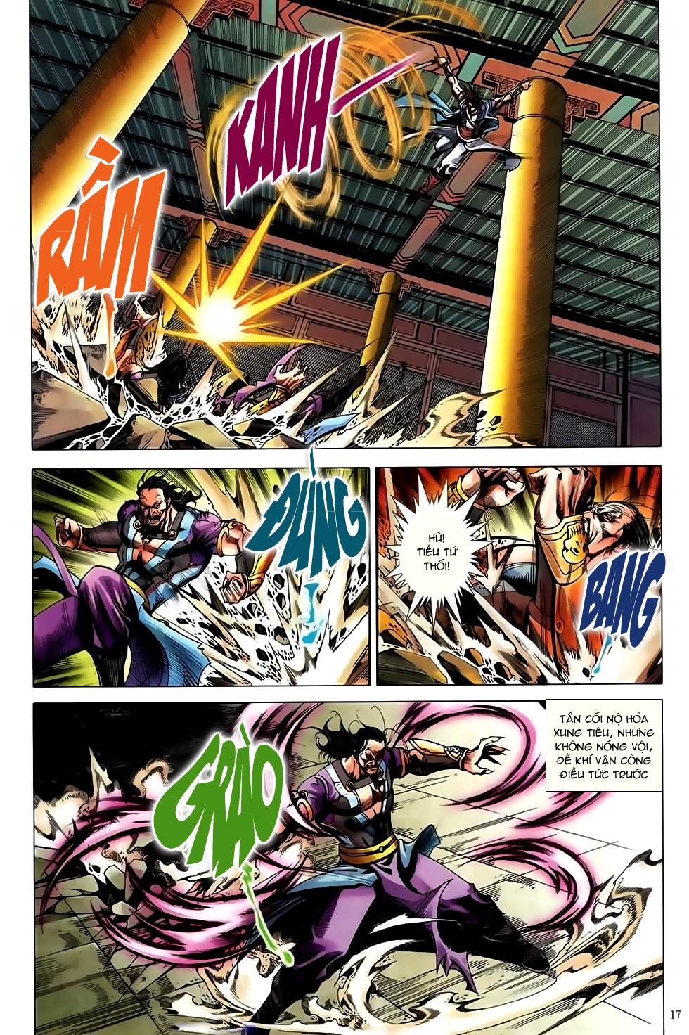 Đại Hiệp Truyền Kỳ (Thần Châu Hậu Truyện) chap 50 - Trang 16