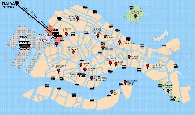 venedik, venezia, cruise limanı, kruvaziyer, turizm, turist kotası, italya, venedik tarihi kent şeması