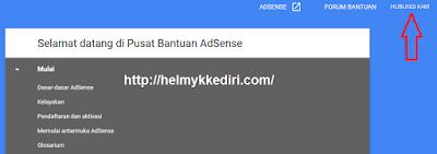 Cara menghubungi pihak adsense lewat email2
