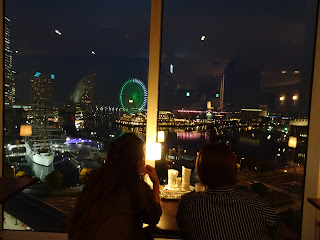 Yokohama nightview restaurant