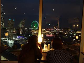Yokohama nightview restaurant