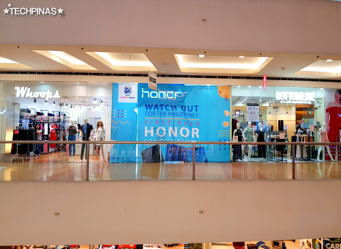 Honor Philippines, Honor Concept Store Philippines, Honor Store SM North EDSA Annex