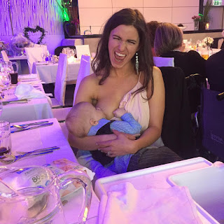 Woman Breastfeeds Her Baby During A Wedding And Triggers A Scandal