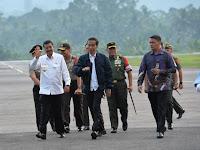 Mendarat di Tapteng, Jokowi Akan Resmikan Tugu Titik Nol Pusat Peradaban Islam