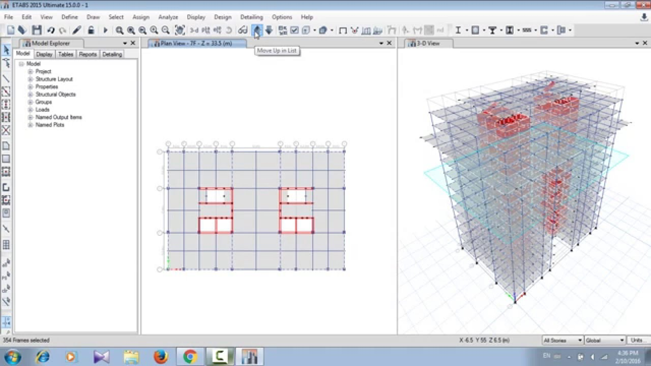 CSI ETABS 2015-PROJECT BUILDING DESIGN-03 - Cefci (E5)