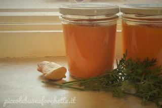 carote e zenzero ricetta