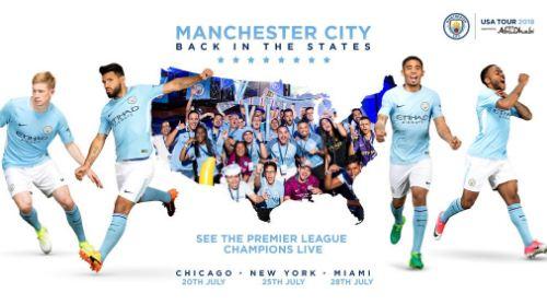 Jadwal Turnamen Pramusim ICC 2018 Manchester City