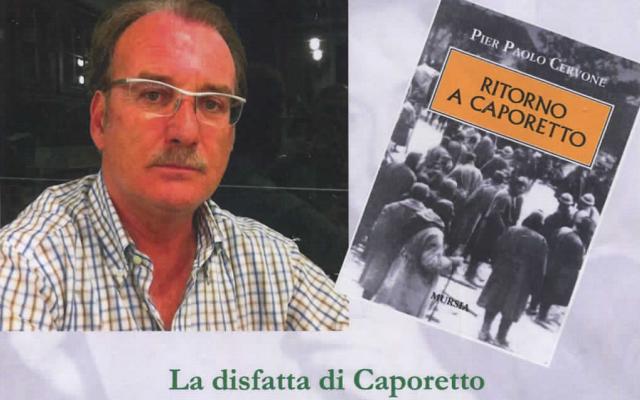 """""""La disfatta di Caporetto"""" intervista a Pierpaolo Cervone"""