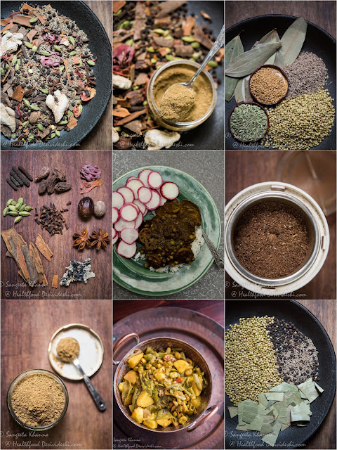 spices and curries