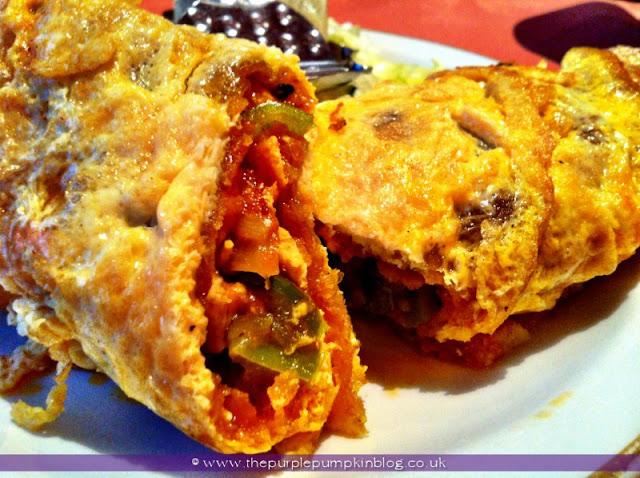 Lamb Kathi Kebab, Raj of India, Collier Row Review at The Purple Pumpkin Blog