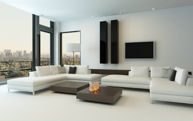 Alluring White Unique Leather Sofa Sets For Living Room