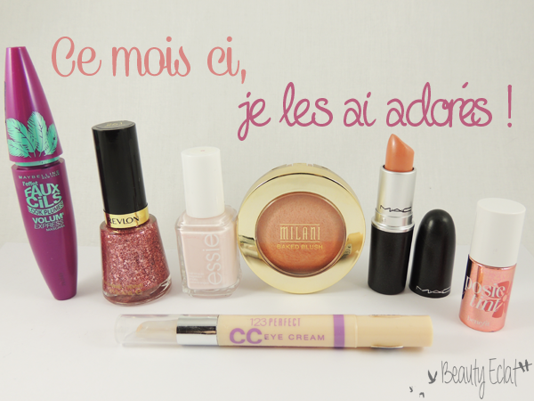 favoris beaute maybelline revlon bourjois mac benefit