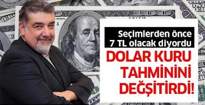 Atilla Yeşilada dolar tahmini