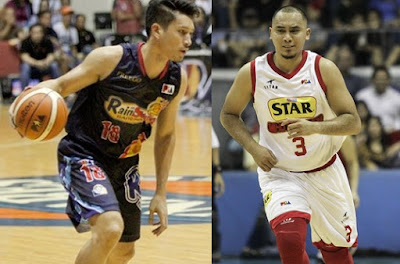 James Yap and Paul Lee