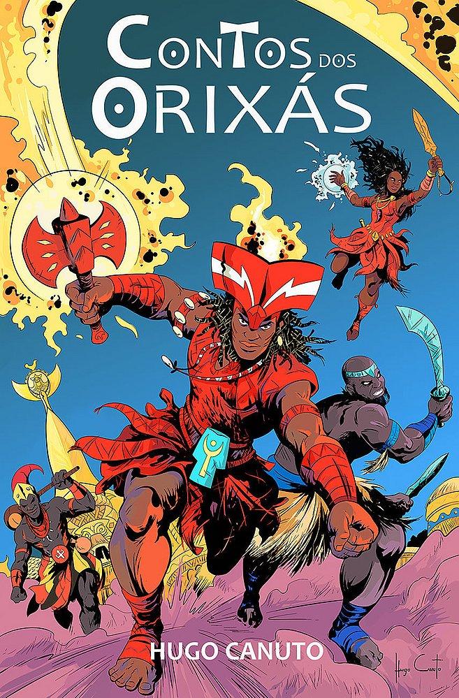 Livro Conto dos Orixás transforma divindades africanas em super-heróis