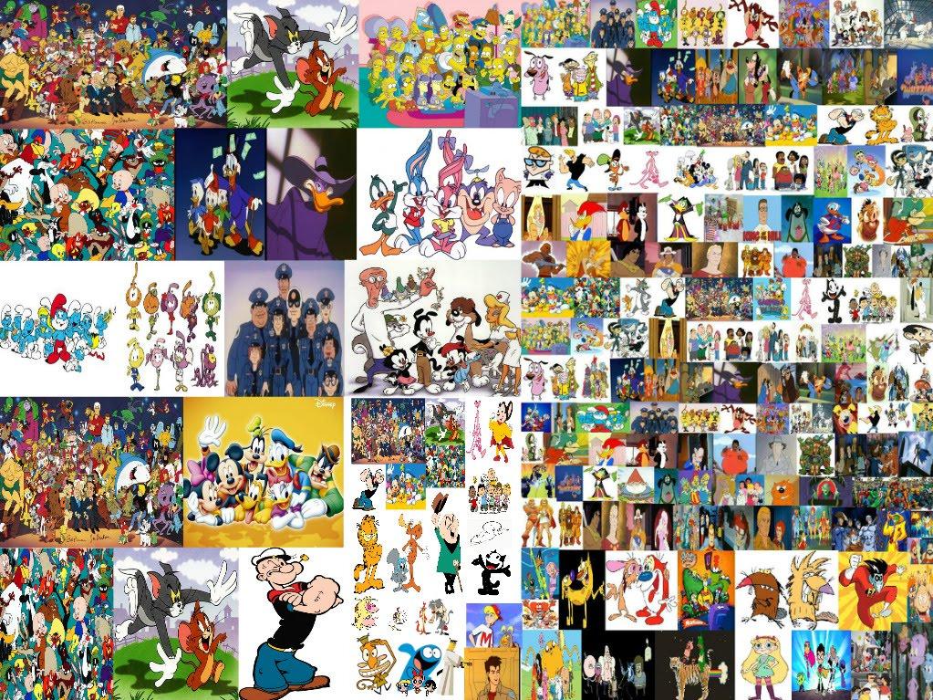 Cartoonia i grandi cartoni animati trasmessi in italia