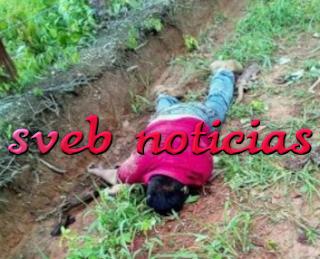 Hallan un ejecutado en Chinameca Veracruz este Jueves