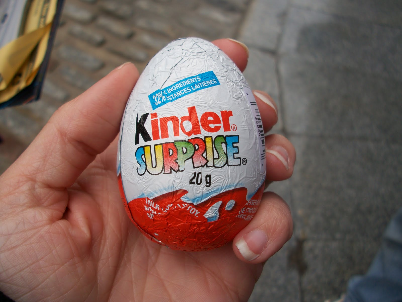 Kinder Egg Illegal Dreams Less Ordinary Kinder Surprise Eggs Childhood In A