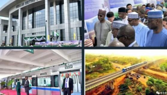 PHOTOS: President Buhari Commissions Abuja Light Rail