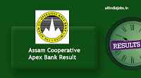 Assam Cooperative Apex Bank Result