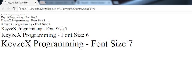 Cara Mengatur Ukuran, Warna, dan Jenis Font di HTML
