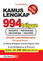 Kamus Lengkap 994 Trilyun Inggris >< Indonesia Index | Rp. 28.500,-