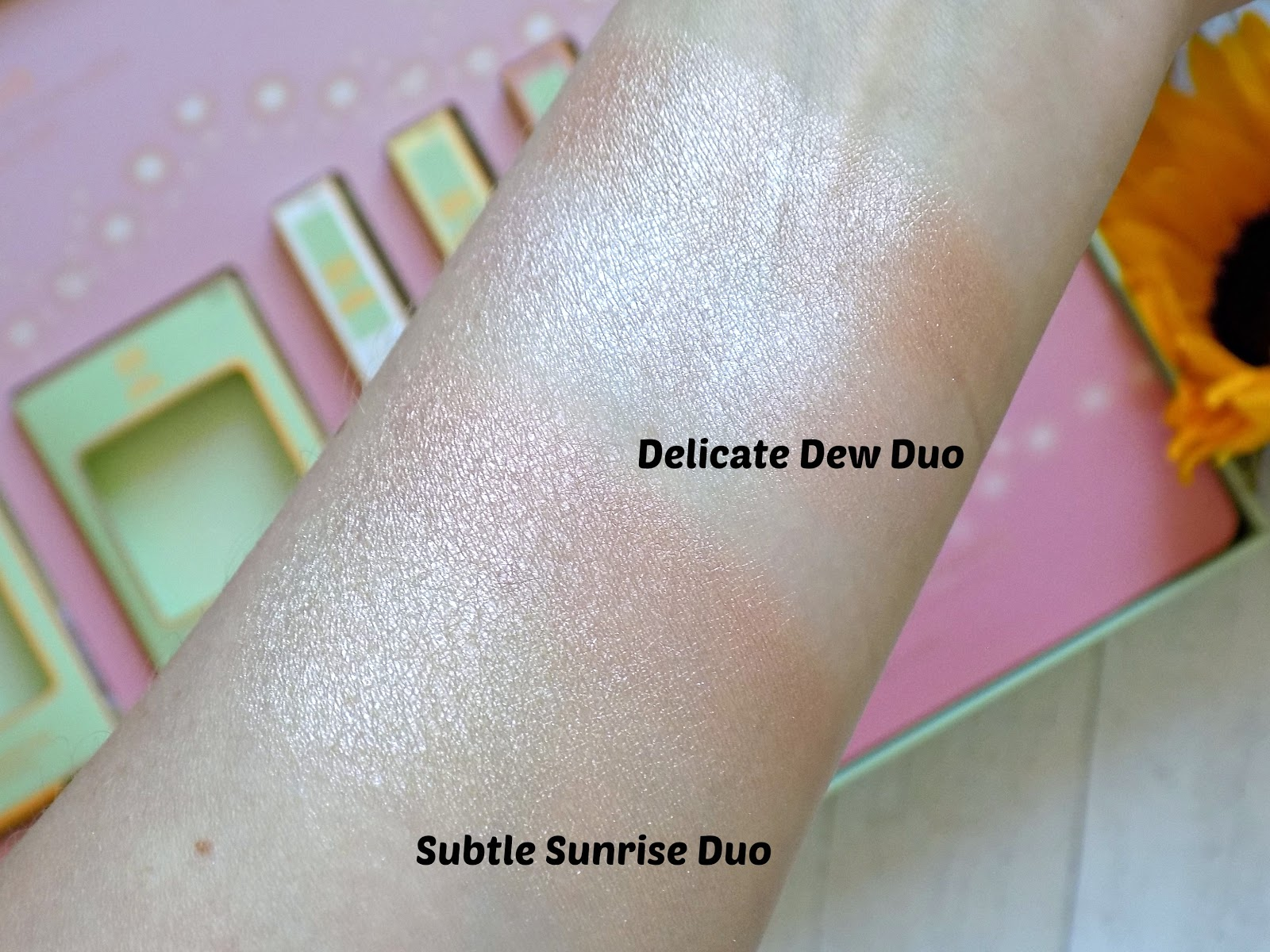 Pixi Glow-y Gossamer Duo: Delicate Dew and Subtle Sunrise