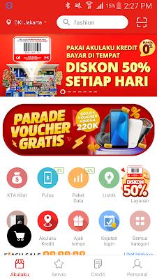 Aplikasi Akulaku Android