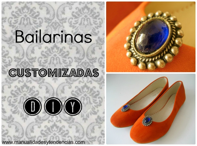 DIY bailarinas customizadas / customized flats / ballerines customisées
