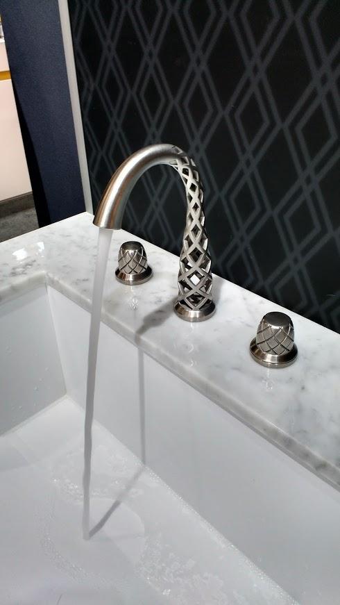 laser printed faucet