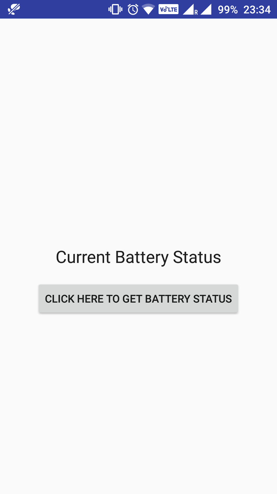 get battery level and state in android programmatically - Java2Blog