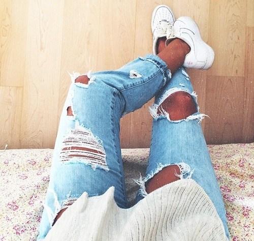 Onde compra calça Jeans Destroyed