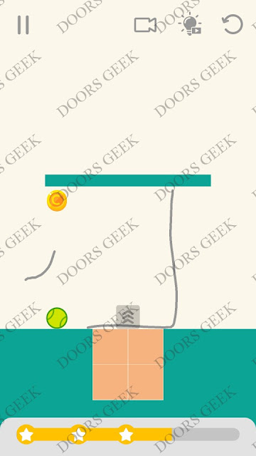 Draw Lines Level 147 Solution, Cheats, Walkthrough 3 Stars for Android and iOS